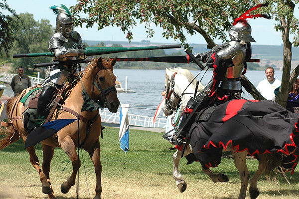 Joust - Two Knights