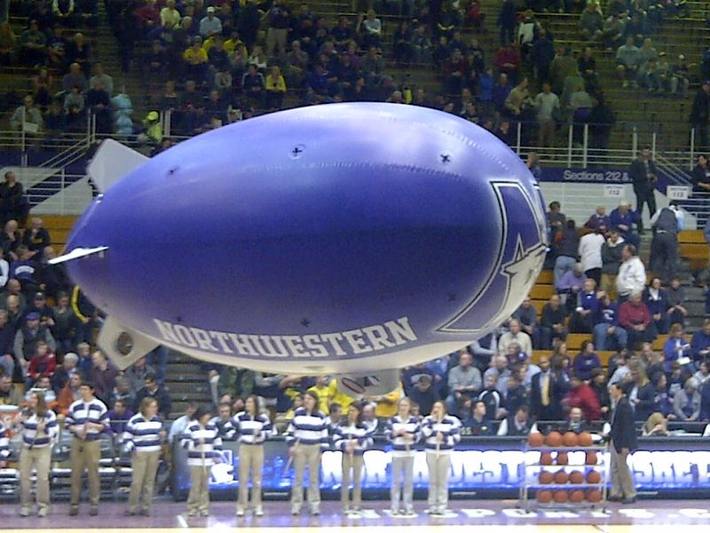 Northwestern_Wildcats_blimp_at_Welsh-Ryan_Arena