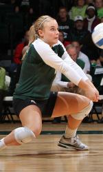 NCAA Womens Volleyball 2011 - Sept  30 -  Nebraska at Michigan State