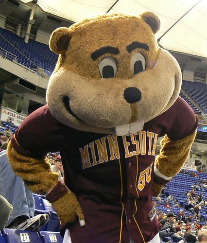 Goldy Gopher Mascot