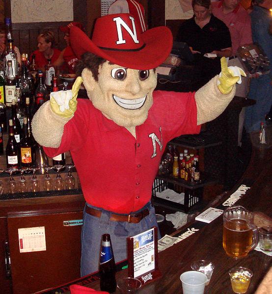 HerbieHusker in a Bar