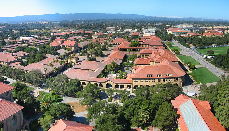 Stanford Viewed from Above
