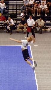 tomclen's Golden Rule: Never miss the serve!