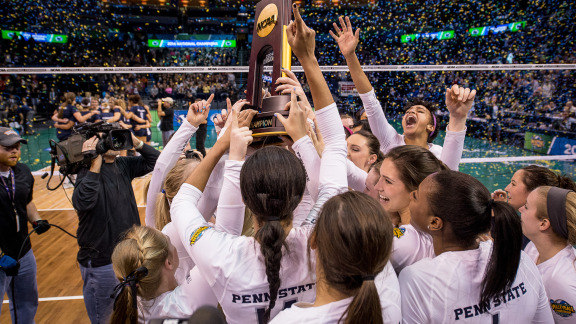 Seventh Heaven: Penn State Sweeps BYU in NCAA Final