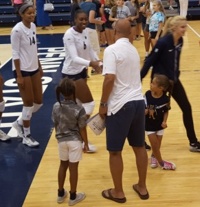 Nia Reed meets James Franklin