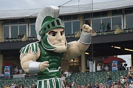 """Sparty is MSU, but MSU is not """"Sparty"""""""