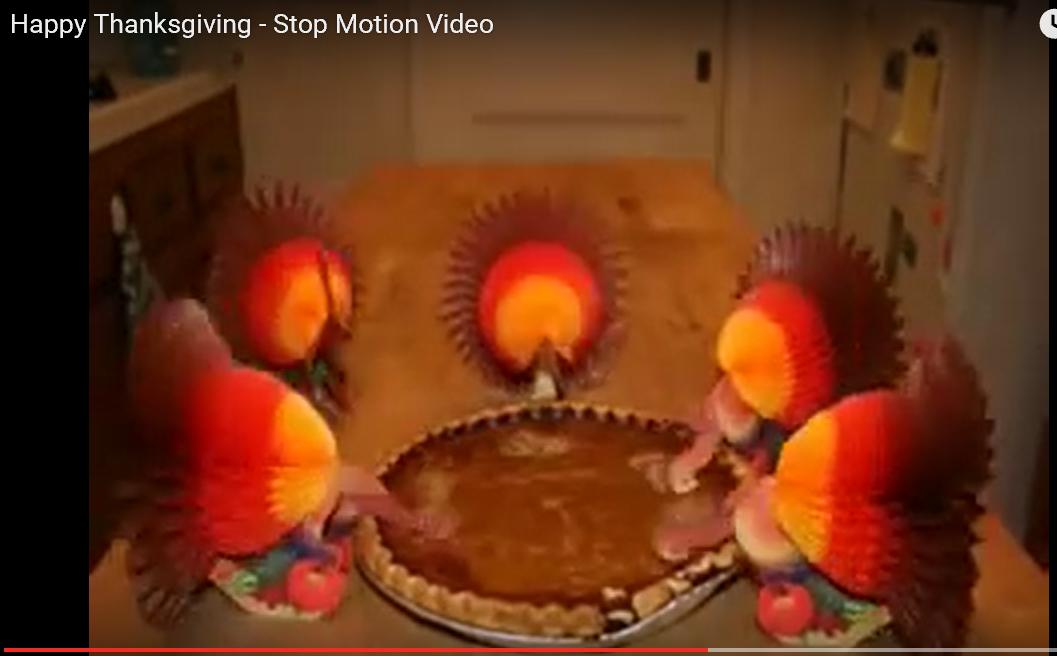 Talking Turkey: Talking Head on the Northwestern Match; plus Thanksgiving - Behind the Scenes (a video)