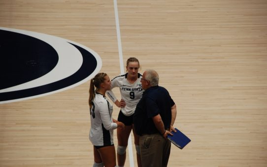 Post Michigan State Interview with Penn State Head Coach Russ Rose