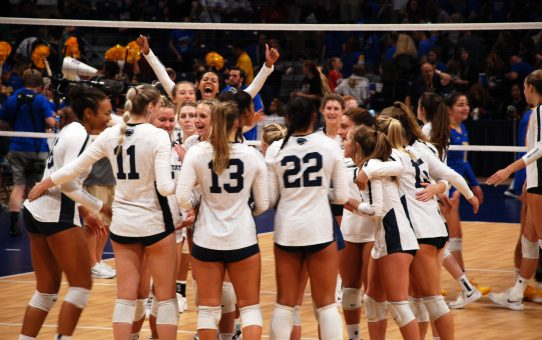 Penn State Women's Volleyball Beats Pitt 3-2 (with Post-Match Quotes)