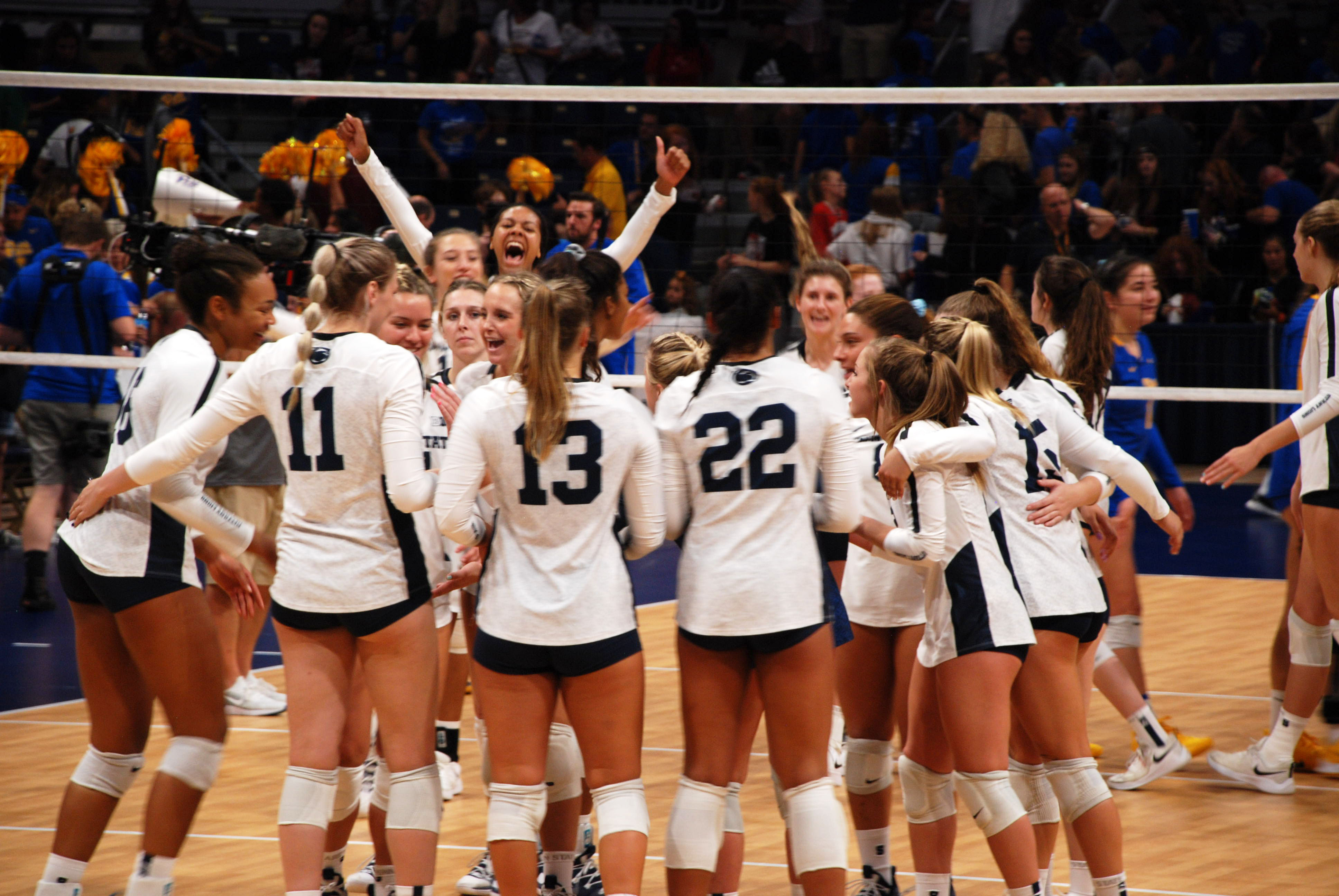 Penn State Women S Volleyball Beats Pitt 3 2 With Post Match Quotes