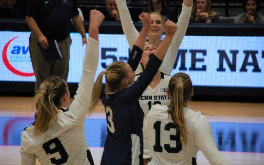 Penn State Women's Volleyball Sweeps Iowa Again