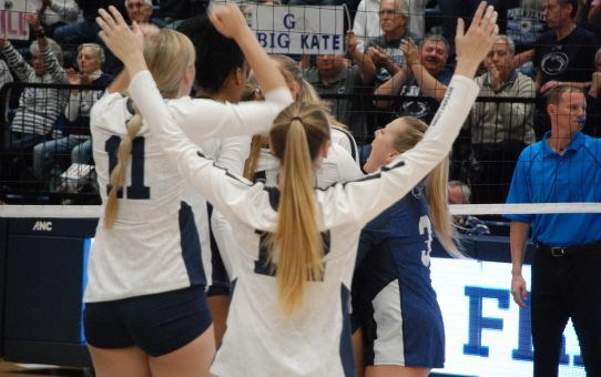 Penn State Women's Volleyball Beats Wisconsin 3-2 (with Post-Match Quotes)