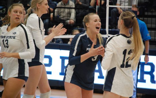 Defensive Specialist An Area Of Strength For Penn State Women's Volleyball