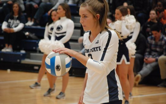 Emily Sciorra's Continued Development On Display For Penn State Women's Volleyball