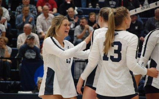 Team Daredevil Jenna Hampton Digs Her Way To Success For Penn State Women's Volleyball