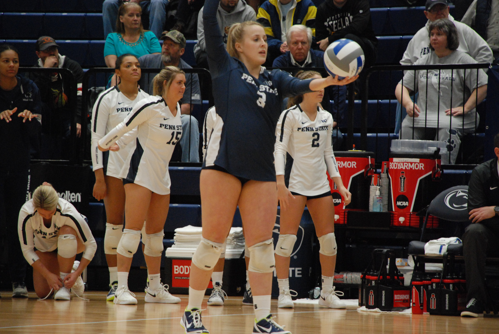 Ultra Competitor Program Rock Kendall White Makes Penn State Women S Volleyball History