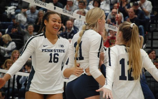 Four Penn State Volleyball Commits Earn AVCA All-Region Recognition