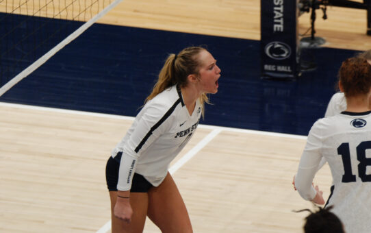 Penn State Women's Volleyball Beats Illinois 3-1