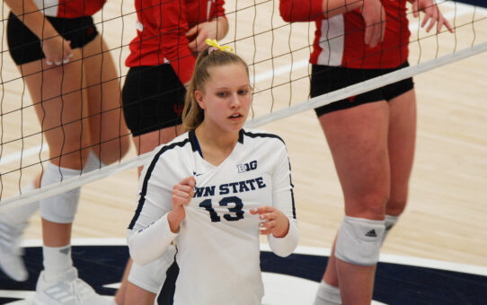 Gabby Blossom Named Big Ten Setter Of The Week