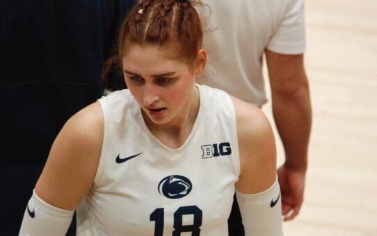 Anastasiya Kudryashova Proving Strong Addition To Penn State Volleyball