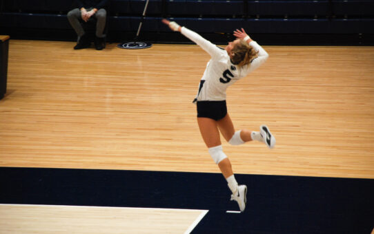 Penn State Women's Volleyball Sweeps Rutgers
