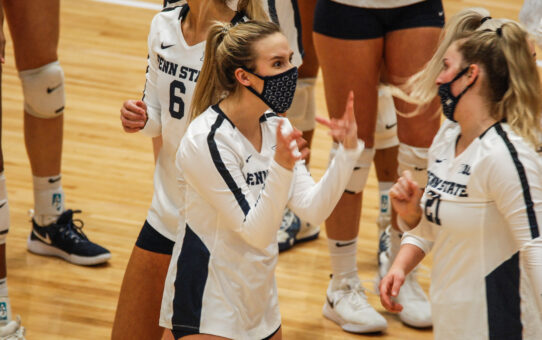 Penn State Women's Volleyball Swept By Ohio State