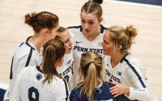 Penn State Women's Volleyball Beats Purdue 3-1