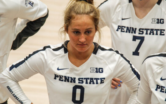Penn State Volleyball Loses 3-1 To Texas In Sweet 16