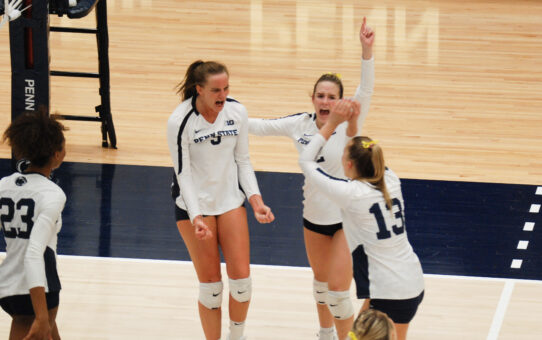Penn State Volleyball Sweeps North Carolina A&T To Reach Sweet 16