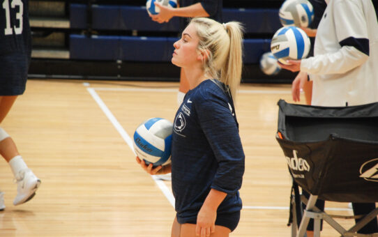 Penn State Volleyball Sweeps West Virginia