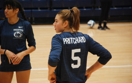 Pritchard Leads Penn State Volleyball In LSU Sweep