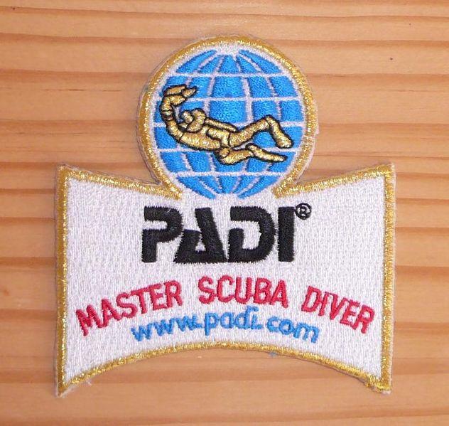 Certificate Master Scuba Diver