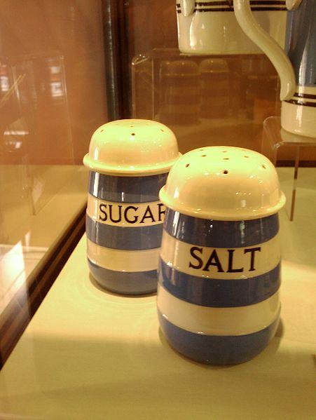 Shakers Salt and Sugar